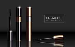 Glossy mascara product Stock Photos