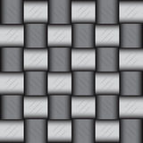 Glossy metalic mosaic pattern Royalty Free Stock Images