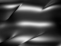Glossy Metallic Dark Silver Background Stock Photography