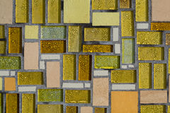 Glossy mosaic Stock Images