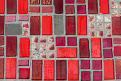 Glossy mosaic. Stock Photo