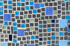 Glossy mosaic. Royalty Free Stock Photo