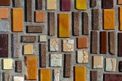 Glossy mosaic. Royalty Free Stock Photos