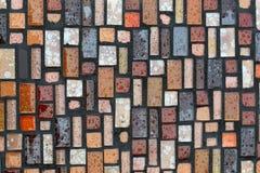 Glossy mosaic. Royalty Free Stock Photography