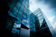 Glossy office building Royalty Free Stock Photo
