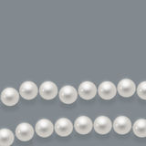 Glossy pearls Royalty Free Stock Photography