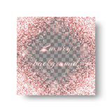 Glossy pink background Stock Photo