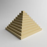Glossy Pyramid Stock Images