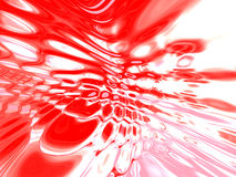 Glossy red abstract background Stock Photography