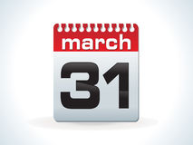 Glossy red calender icon Royalty Free Stock Photo