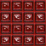Glossy red tiles Royalty Free Stock Image