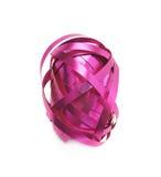 Glossy ribbon reel isolated Royalty Free Stock Photography