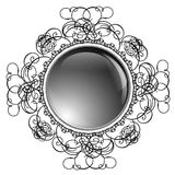 Glossy Round Frame Royalty Free Stock Photo