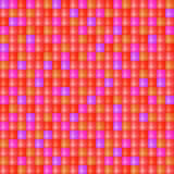 Glossy Seamless Mosaic Cell Pattern Stock Images