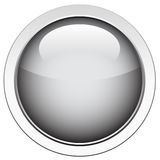 Glossy Shiny Button Royalty Free Stock Image
