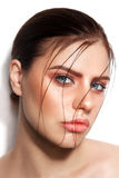 Glossy skin Royalty Free Stock Photos