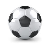 Glossy soccer ball Stock Images