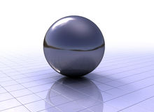 Glossy sphere Stock Photo