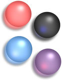 Glossy Spheres Stock Photos