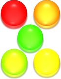 Glossy Spheres Royalty Free Stock Photography