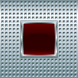 Glossy square screen Stock Photography