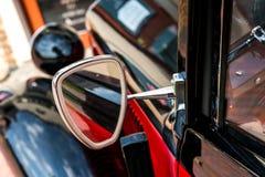 Glossy steel mirror. Stock Image