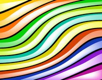 Glossy stripes Stock Photo