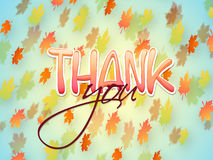 Glossy stylish text for Thanksgiving Day celebration. Royalty Free Stock Image