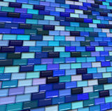 Glossy tile pattern Royalty Free Stock Images