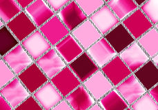 Glossy tiles background Stock Images