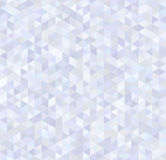 Glossy triangles, abstract brilliant seamless pattern Stock Photo