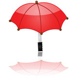 Glossy umbrella Royalty Free Stock Photography