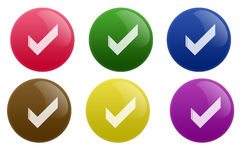 Glossy Vote Button Royalty Free Stock Photo