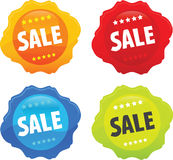 Glossy Web Sale Icon 2 stock illustration