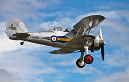 GLoster Gladiator on landing approach Stock Image