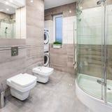 Glosy łazienki pomysł obraz royalty free