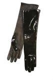 Glothes de cuero negros Foto de archivo libre de regalías