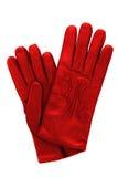 glothes islolated czerwony biel Zdjęcie Stock