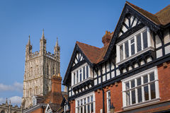 Gloucester Cathedral City, England Royalty Free Stock Image