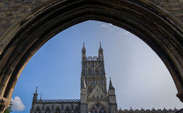 Gloucester Cathedral City, England Stock Image