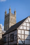 Gloucester Cathedral City, England Royalty Free Stock Photo