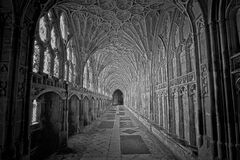 Gloucester Cathedral Cloister Stock Images