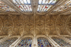 Gloucester Cathedral Interior. Image taken in Gloucester, England, 2011 Royalty Free Stock Photos