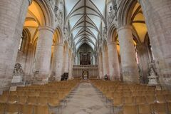 Gloucester Cathedral Nave Stock Photography