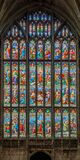 Gloucester Cathedral West Window Stock Images