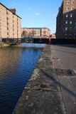 Gloucester docks Stock Photo