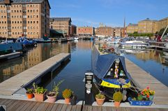Gloucester Docks. Royalty Free Stock Image