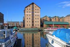 Gloucester Docks Royalty Free Stock Photo