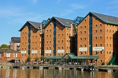 Gloucester Docks. Royalty Free Stock Images