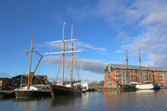 Gloucester Docks Royalty Free Stock Photography